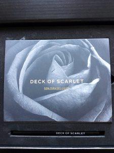 Deck of Scarlet packaging