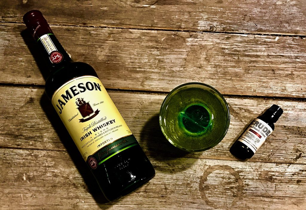 Luck of the Irish cocktail ingredients